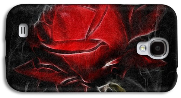 Red Hot Galaxy S4 Case by Zeana Romanovna