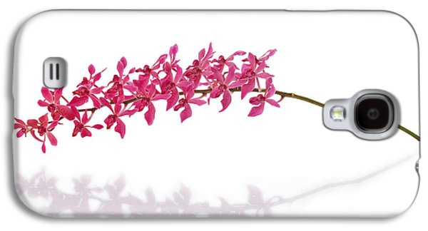 Red Orchid Galaxy S4 Case by Atiketta Sangasaeng