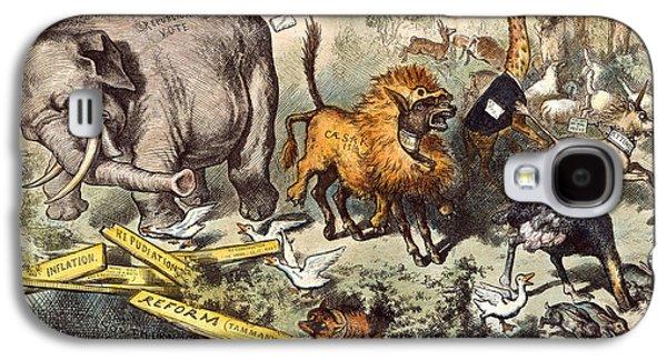 Republican Elephant, 1874 Galaxy S4 Case