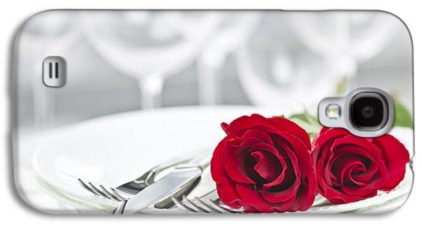 Romantic Dinner Setting Galaxy S4 Case by Elena Elisseeva