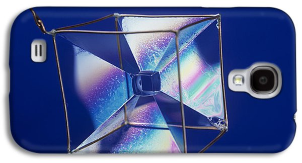 Soap Films On A Cube Galaxy S4 Case