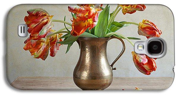 Still Life With Tulips Galaxy S4 Case