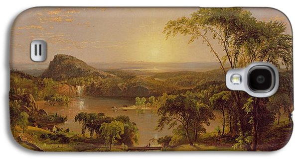 Summer Lake Ontario Galaxy S4 Case by Jasper Francis Cropsey