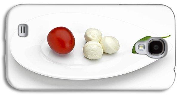 Lettuce Galaxy S4 Case - Tomato Mozzarella by Joana Kruse