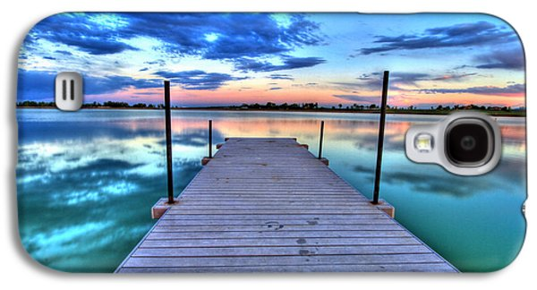 Tranquil Dock Galaxy S4 Case by Scott Mahon