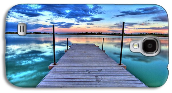 Tranquil Dock Galaxy S4 Case