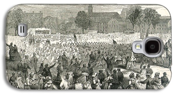 Washington: Abolition, 1866 Galaxy S4 Case