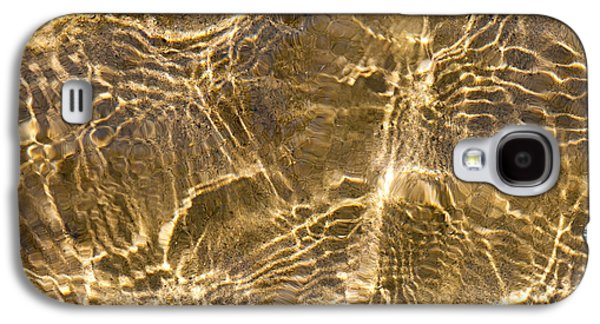 Water And Sand Ripples Galaxy S4 Case