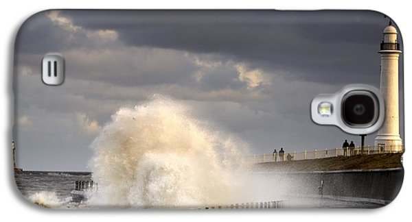 Waves Crashing, Sunderland, Tyne And Galaxy S4 Case