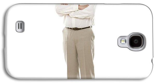 Happy Senior Man Galaxy S4 Case