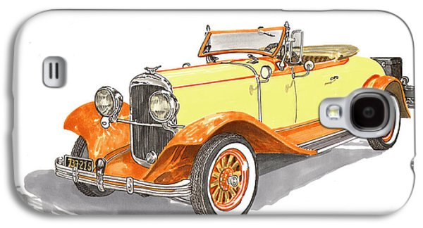 1929 Chrysler 65 Roadster Galaxy S4 Case