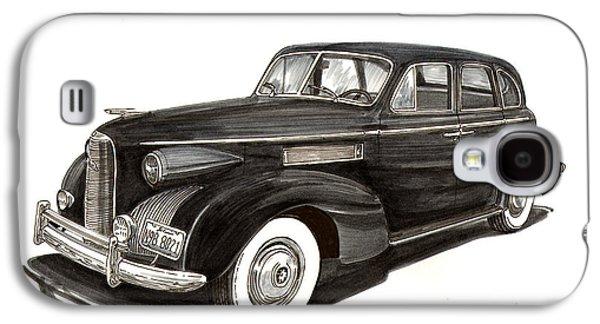 1939 Lasalle Classic Galaxy S4 Case by Jack Pumphrey