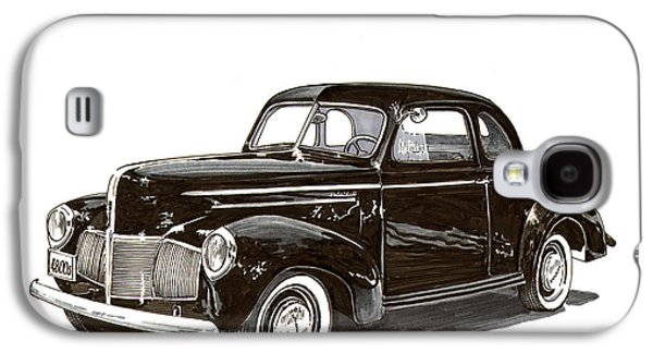 1940 Studebaker Business Coupe Galaxy S4 Case by Jack Pumphrey