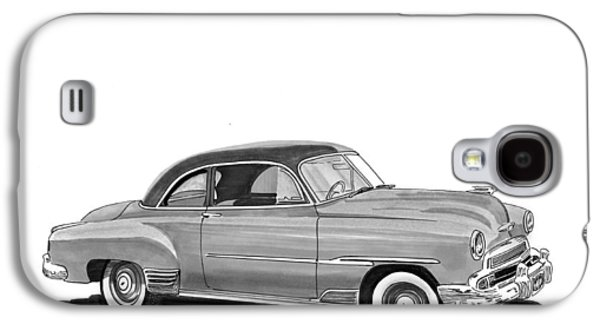 1951 Chevrolet Coupe Galaxy S4 Case by Jack Pumphrey
