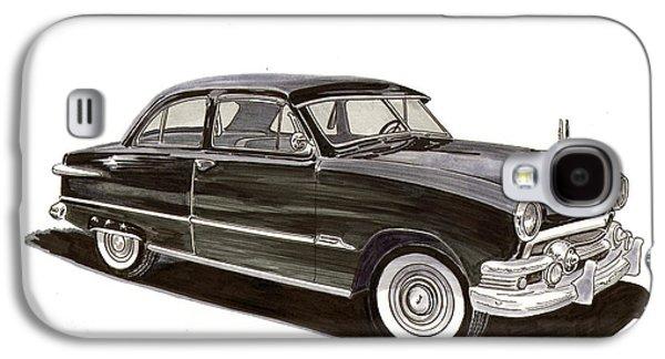 1951 Ford 2 Dr Sedan Galaxy S4 Case by Jack Pumphrey