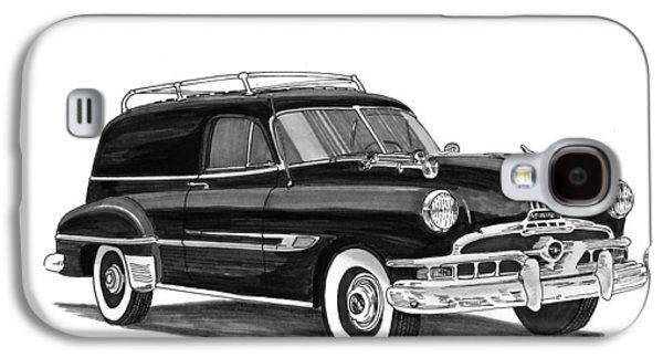 1951 Pontiac Panel Delivery Galaxy S4 Case by Jack Pumphrey