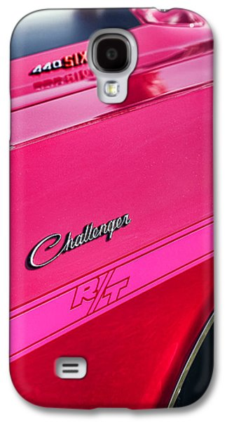 1970 Dodge Challenger Rt 440 Six Pack - Tickled Pink Galaxy S4 Case by Gordon Dean II