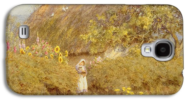 A Surrey Cottage Galaxy S4 Case by Helen Allingham