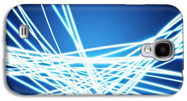 Abstract Of Weaving Line Galaxy S4 Case