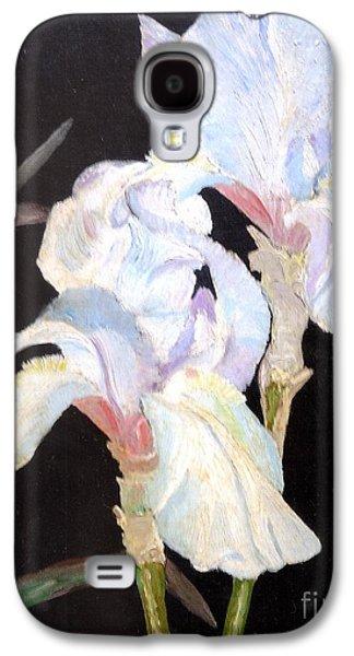 Blue Iris Galaxy S4 Case by Rod Ismay