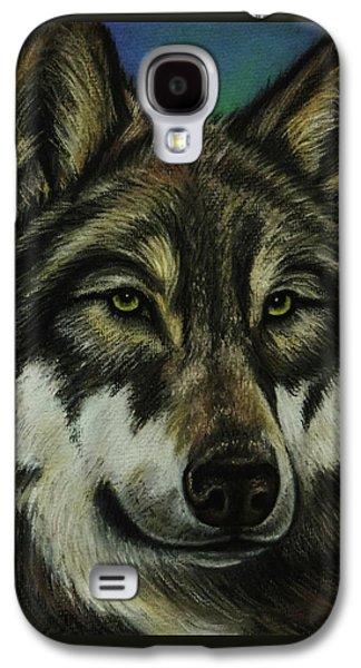 Blue Wolf Galaxy S4 Case