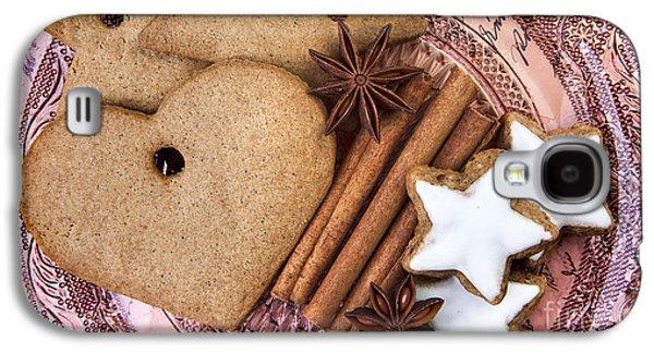 Christmas Gingerbread Galaxy S4 Case by Nailia Schwarz