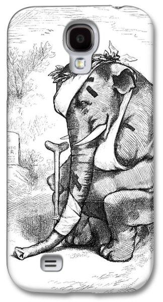 Election Cartoon, 1877 Galaxy S4 Case