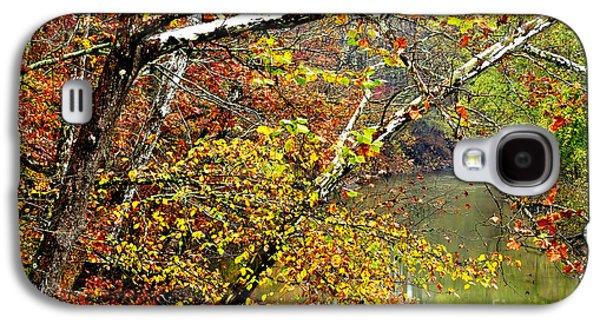 Fall Along West Fork River Galaxy S4 Case by Thomas R Fletcher
