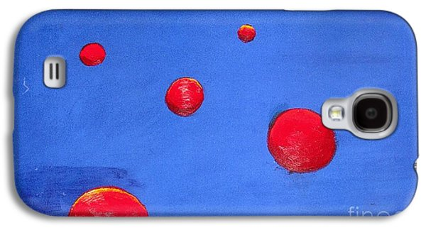 Orbs In Space 1 -- Crossing Paths Galaxy S4 Case