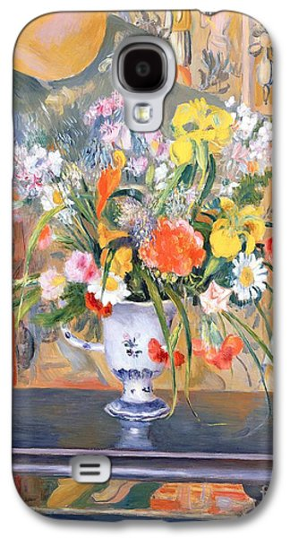 Vase Of Flowers Galaxy S4 Case by Pierre Auguste Renoir