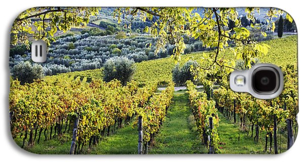 Vineyards And Olive Groves Galaxy S4 Case by Jeremy Woodhouse