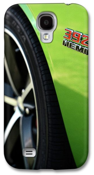2012 Dodge Challenger 392 Hemi - Green With Envy Galaxy S4 Case by Gordon Dean II