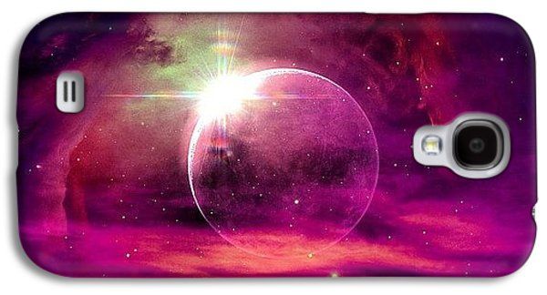 Bright Galaxy S4 Case -  by Katie Williams