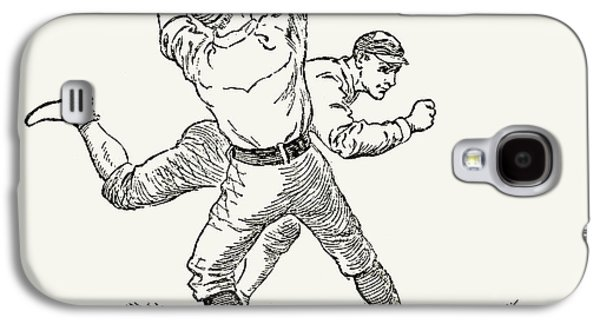 Baseball Players, 1889 Galaxy S4 Case by Granger