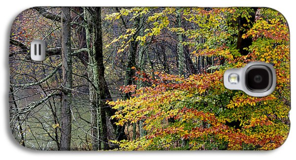 Fall Along West Fork River Galaxy S4 Case by Thomas R Fletcher