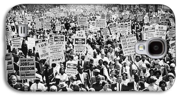 March On Washington. 1963 Galaxy S4 Case
