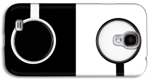 Yin And Yang Galaxy S4 Case by Gert Lavsen