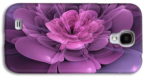 3d Flower Galaxy S4 Case by John Edwards