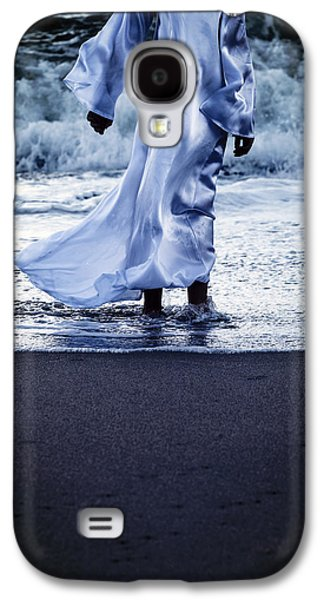 Girl At The Sea Galaxy S4 Case