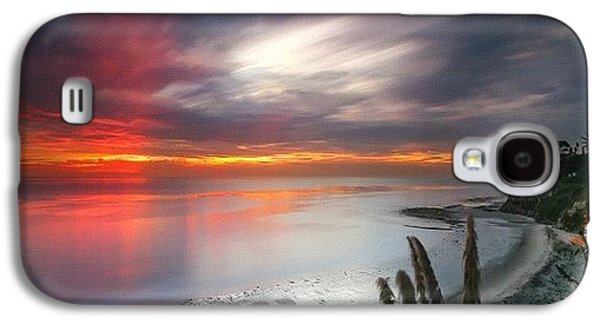 Long Exposure Sunset At A North San Galaxy S4 Case by Larry Marshall