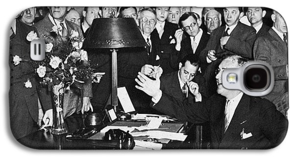Franklin D. Roosevelt Galaxy S4 Case by Granger