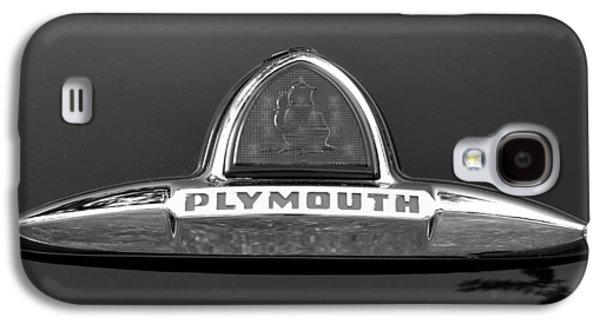 49 Plymouth Emblem Galaxy S4 Case by David Lee Thompson