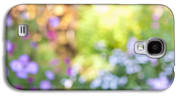Flower Garden In Sunshine Galaxy S4 Case by Elena Elisseeva