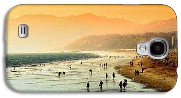 Amazing Galaxy S4 Case - Santa Monica Beach by Luisa Azzolini