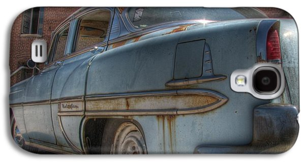 '52 Chevy Bel Air Galaxy S4 Case by Jane Linders