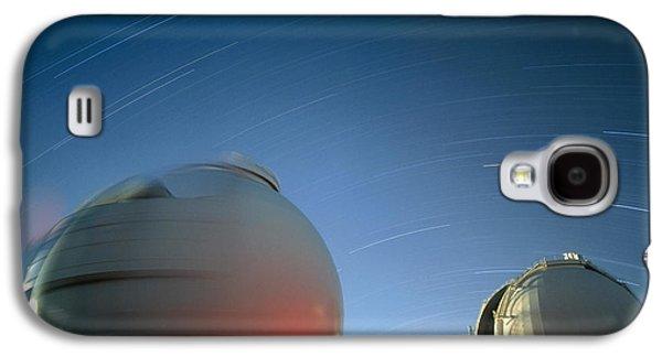 Keck I And II Observatories On Mauna Kea, Hawaii Galaxy S4 Case by David Nunuk