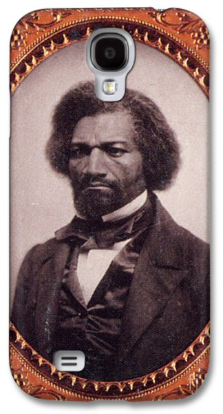 Frederick Douglass African-american Galaxy S4 Case by Photo Researchers