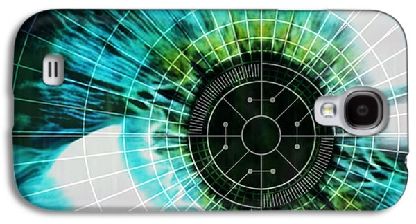 Biometric Eye Scan Galaxy S4 Case