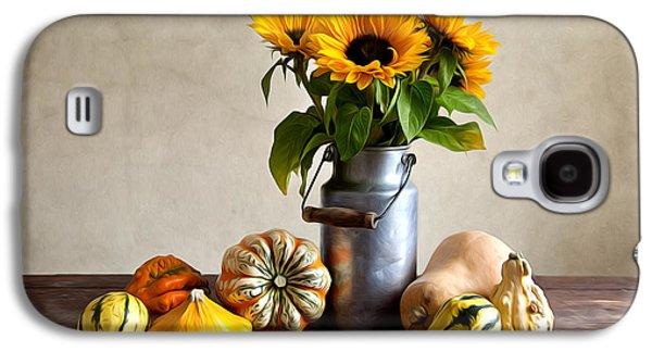Pumpkin Galaxy S4 Case - Autumn by Nailia Schwarz