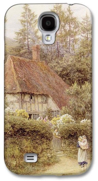 A Cottage Near Haslemere Galaxy S4 Case by Helen Allingham
